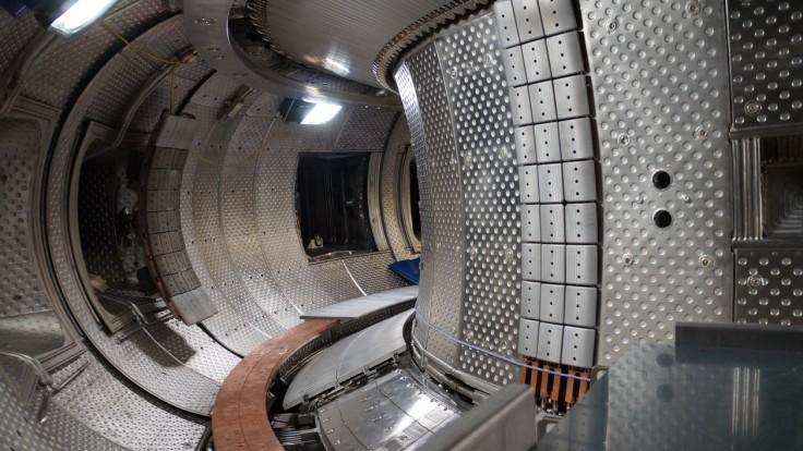 L'intérieur du Tokamak West du programme Iter.