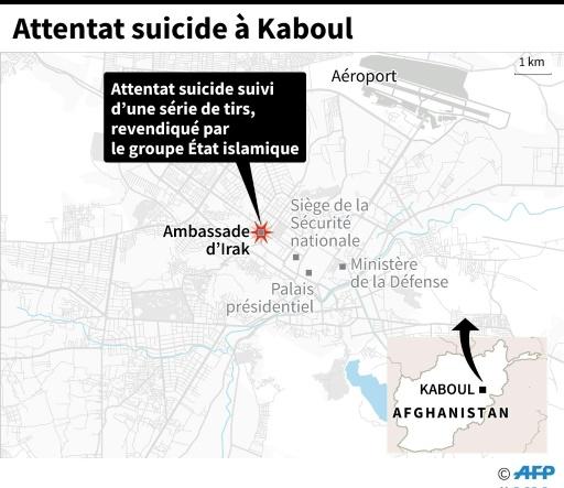 Attentat suicide à Kaboul © AFP  AFP